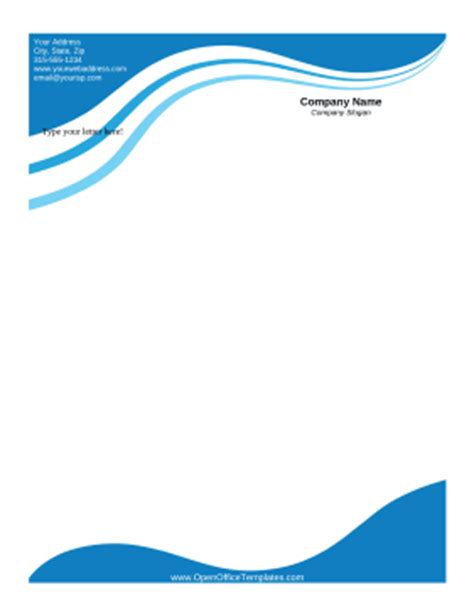 Fax Cover Sheet Templates - OpenOffice Templates